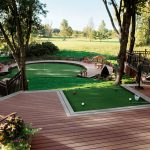 trex accents putting green